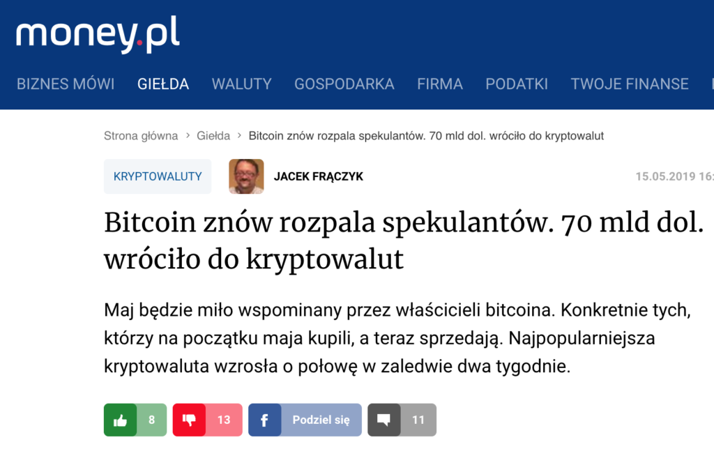 Money.pl o bitcoin